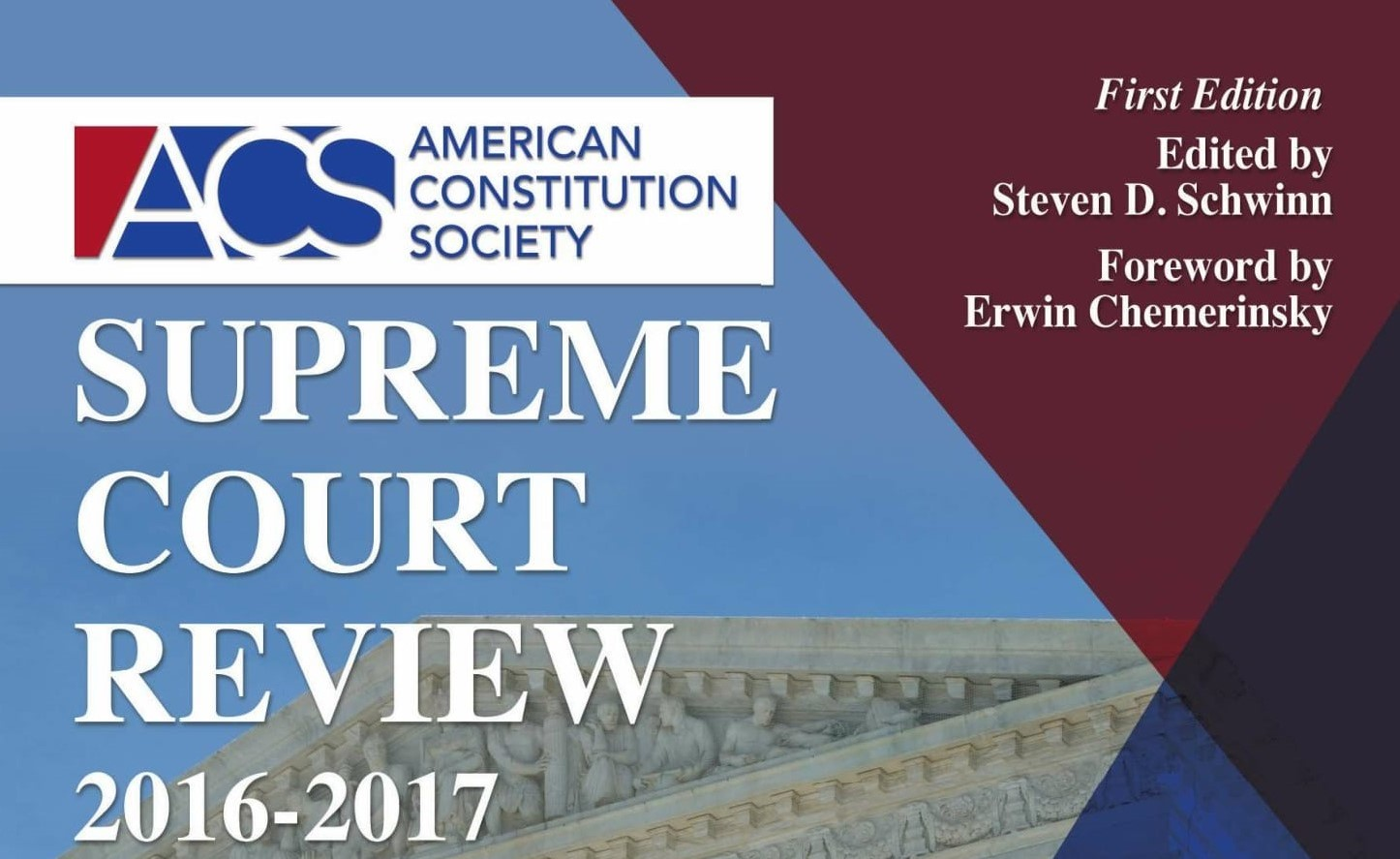Cropped cover page for ACS Supreme Court Review