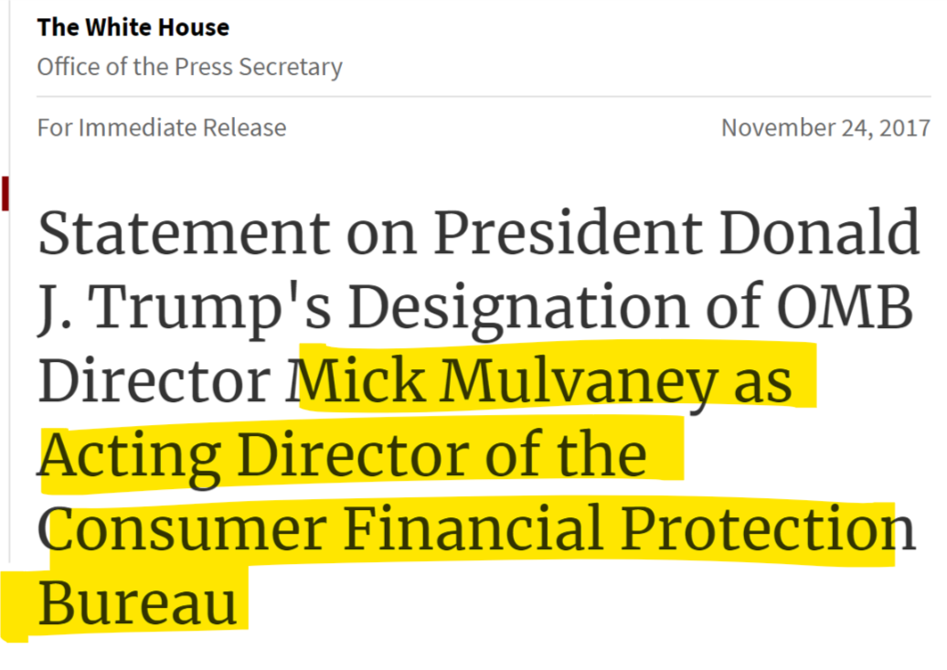 Mick_Mulvaney_CFPB_WH_statement.png