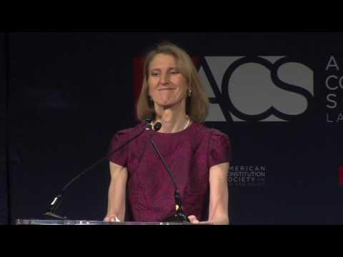 ACS President Caroline Fredrickson Welcome Remarks