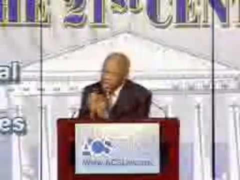 Congressman John Lewis (D-GA) at the 2004 National Convention
