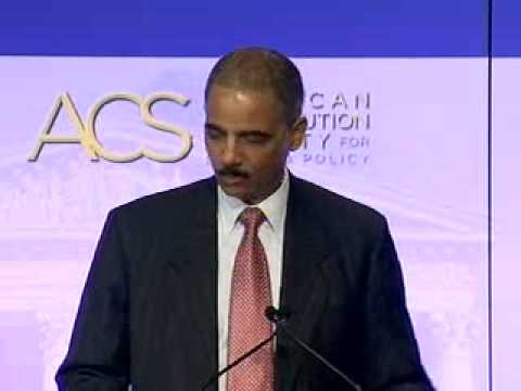 Eric Holder on the Rule of Law – 2008 ACS National Convention