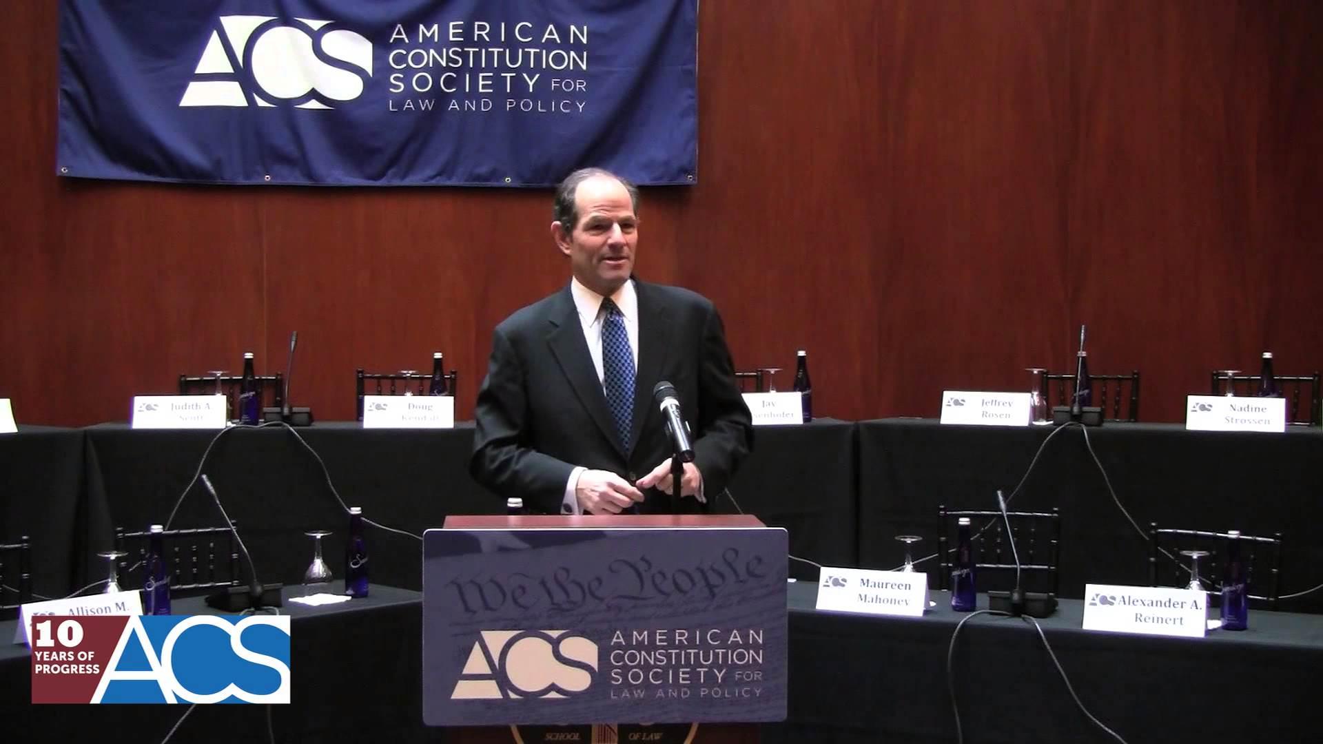 Highlights from Eliot Spitzer's Keynote Address