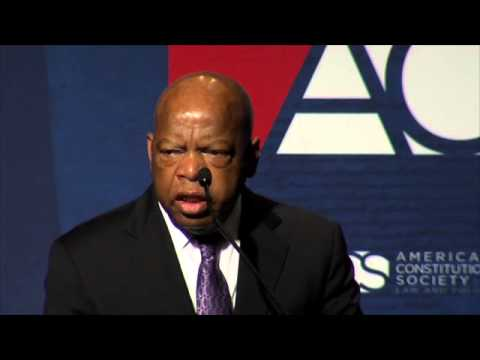Highlights of Rep. John Lewis' Speech to 2013 ACS National Convention