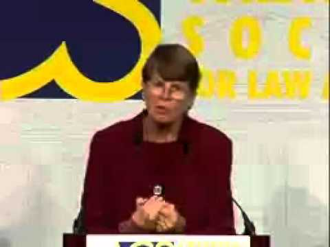 Janet Reno at the 2003 ACS National Convention
