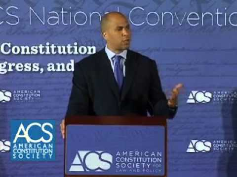 Mayor Cory A. Booker Addresses ACS National Convention