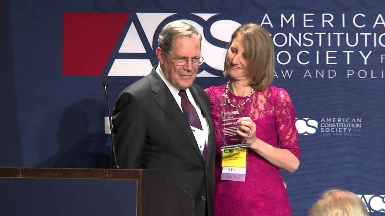 Progressive Champion Award Presentation to Peter B. Edelman