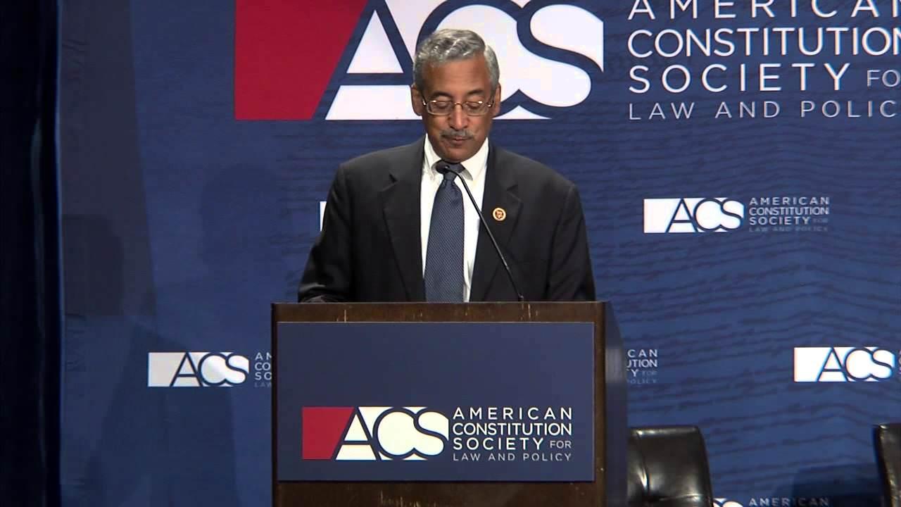 """Representative Robert """"Bobby"""" Scott Keynote Address"""