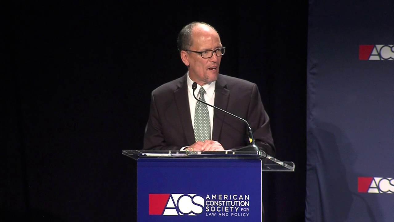 Secretary Thomas Perez Keynote Address