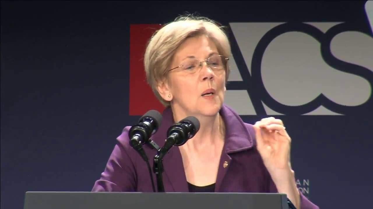 Sen. Elizabeth Warren Delivers Keynote Address at the 2016 ACS National Convention