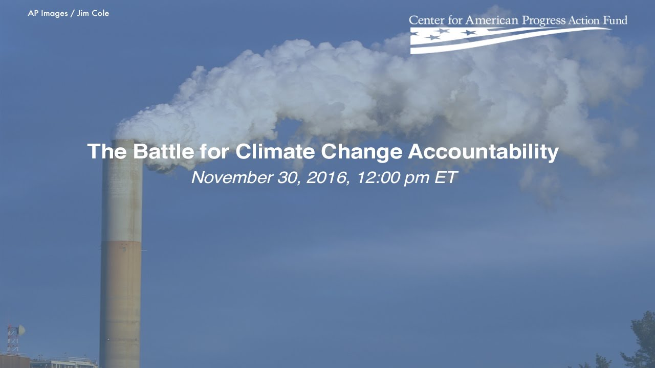 The Battle for Climate Change Accountability