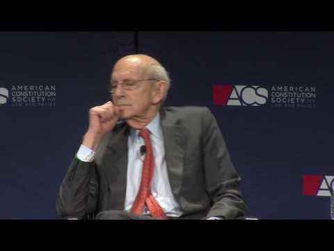 United States Supreme Court Justice Stephen Breyer in Conversation with Dean Alan Morrison, Introduced by Judge Ketanji Brown Jackson