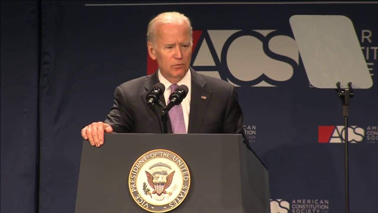 Vice President Joe Biden Delivers Keynote Address at the 2016 ACS National Convention