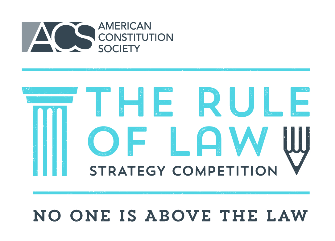 ACS Rule of Law Strategy Competition Logo