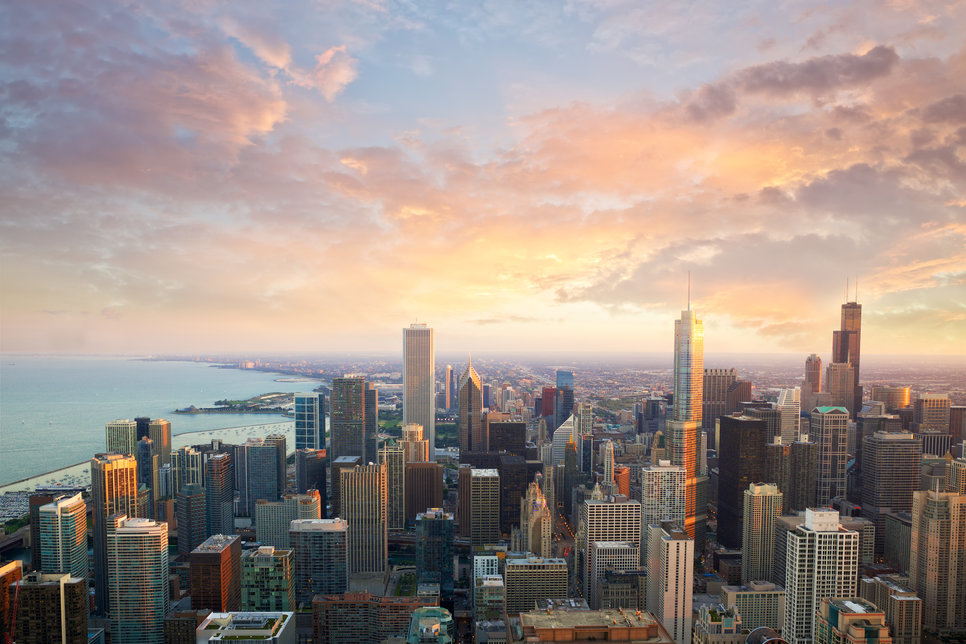 Chicago_sunset