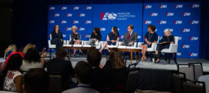 Panelists discuss the #MeToo movement at the 2018 ACS National Convention
