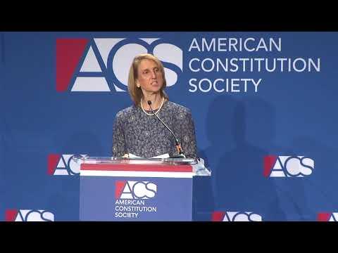 Caroline Fredrickson Welcomes Attendees to #ACS2018