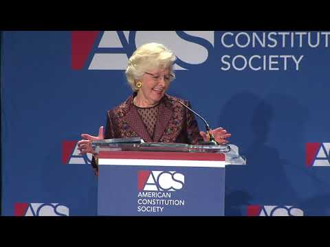 Hon. Margaret H. Marshall Receives ACS Lifetime Achievement Award