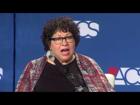 Justice Sonia Sotomayor in Conversation at #ACS2018