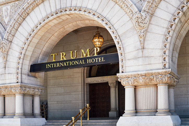 Trump International Hotel Sign