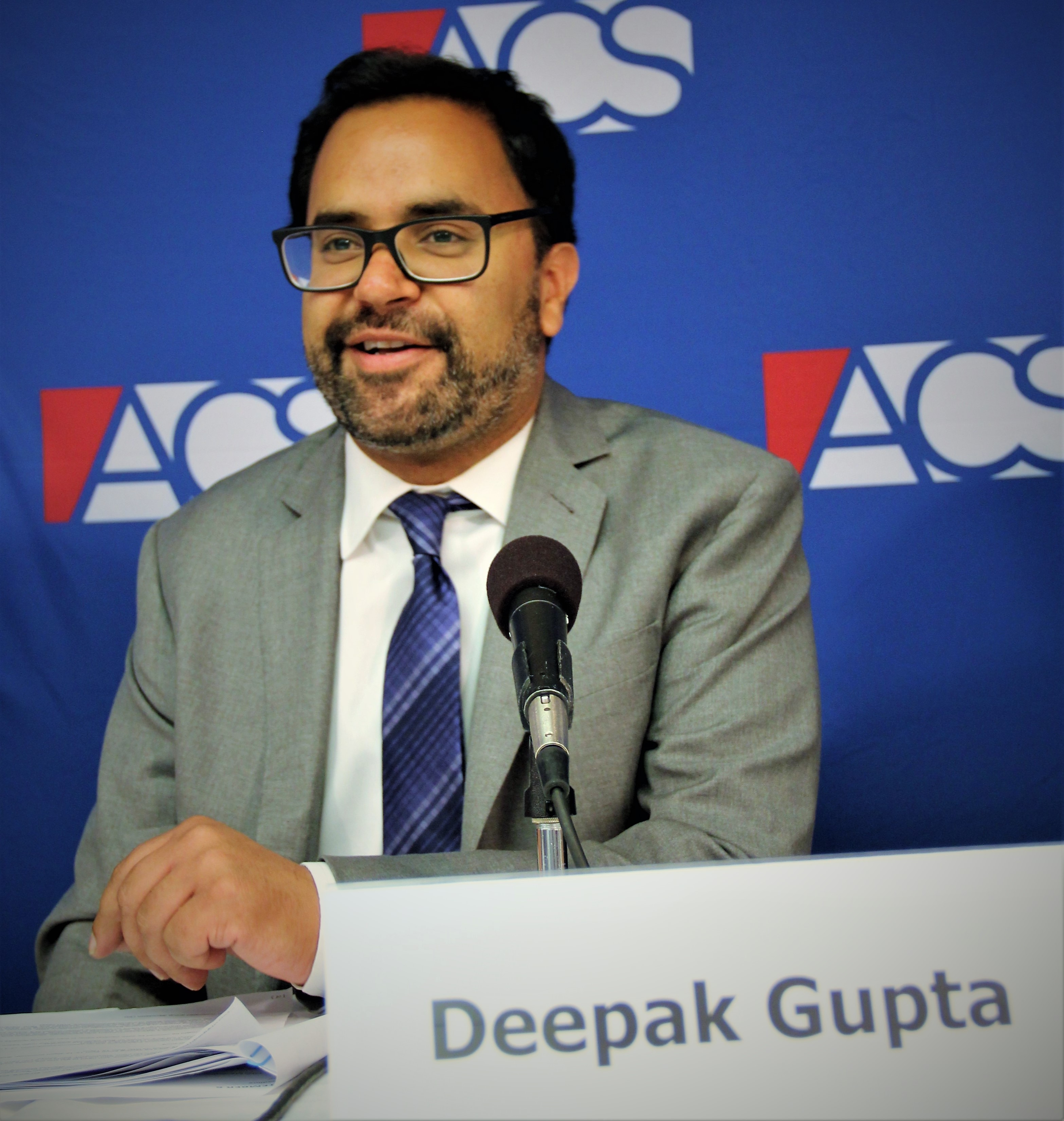 Deepak Gupta speaks at the 2018 ACS Supreme Court Preview, September 6 2018