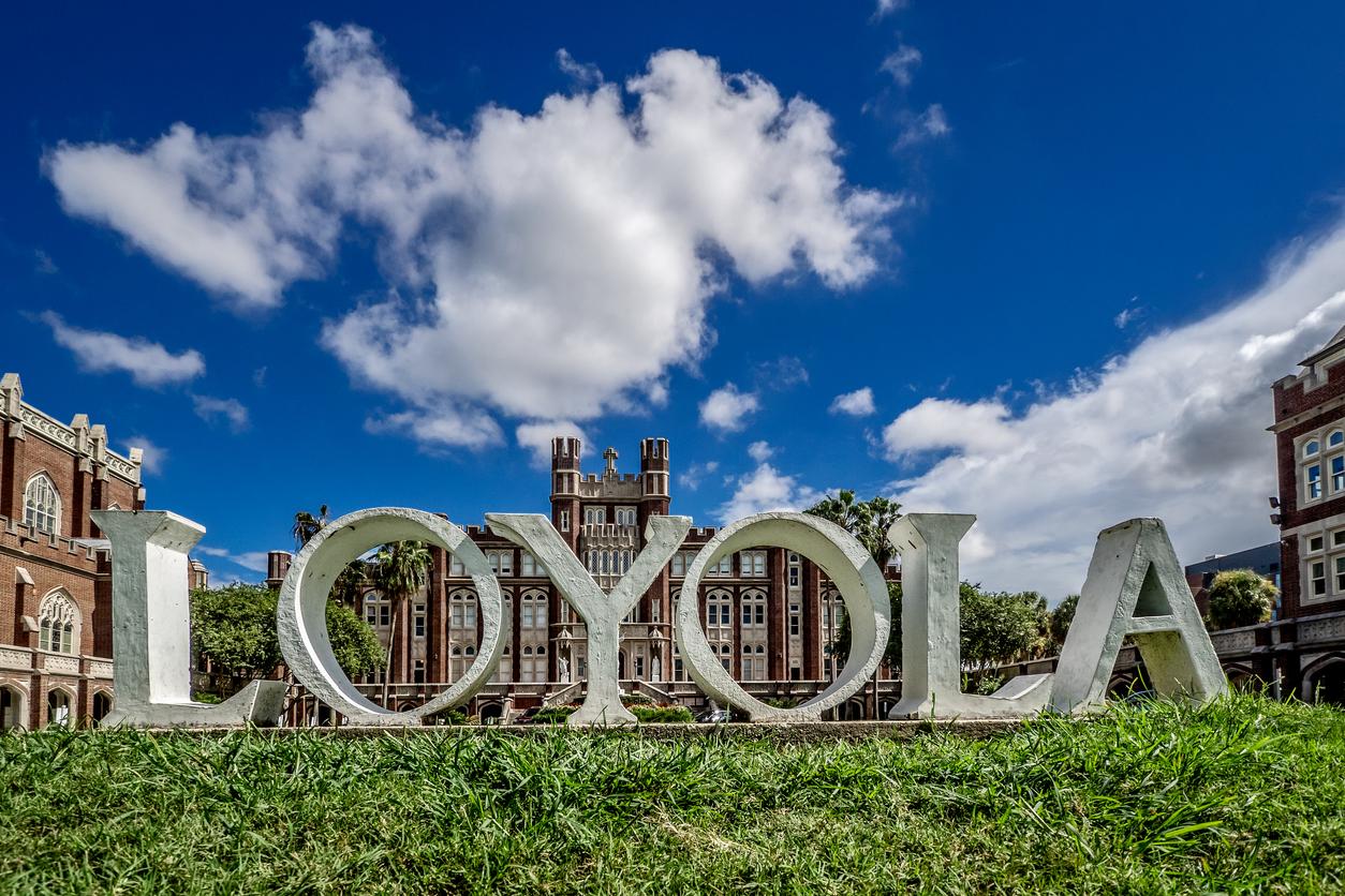 Loyola University New Orleans LA Sign