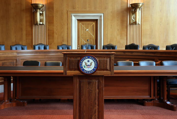 United States Senate Committee Hearing Room