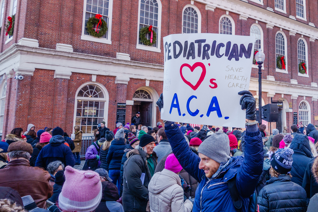 Rally to keep Obamacare in Boston