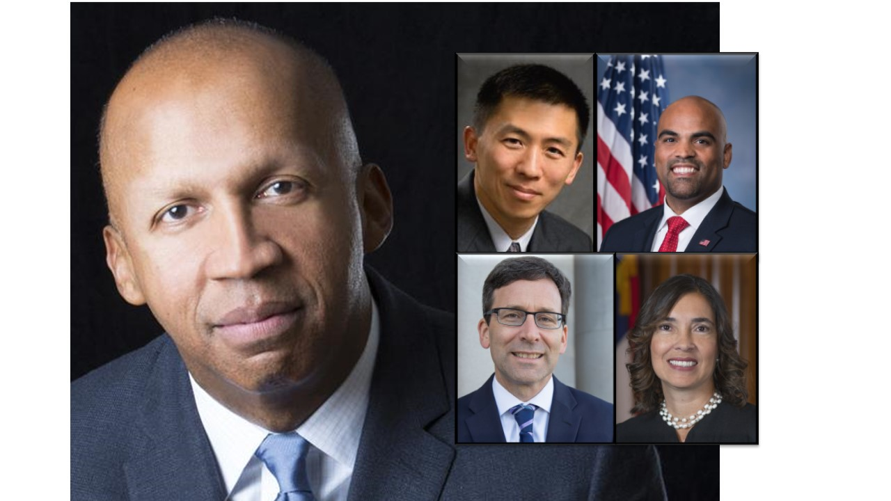 Featured Speakers at ACS National Convention, including Bryan stevenson, Goodwin Liu, Colin Allred, Bob Ferguson, and Anita Earls