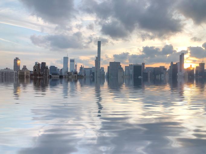 New York City flooded