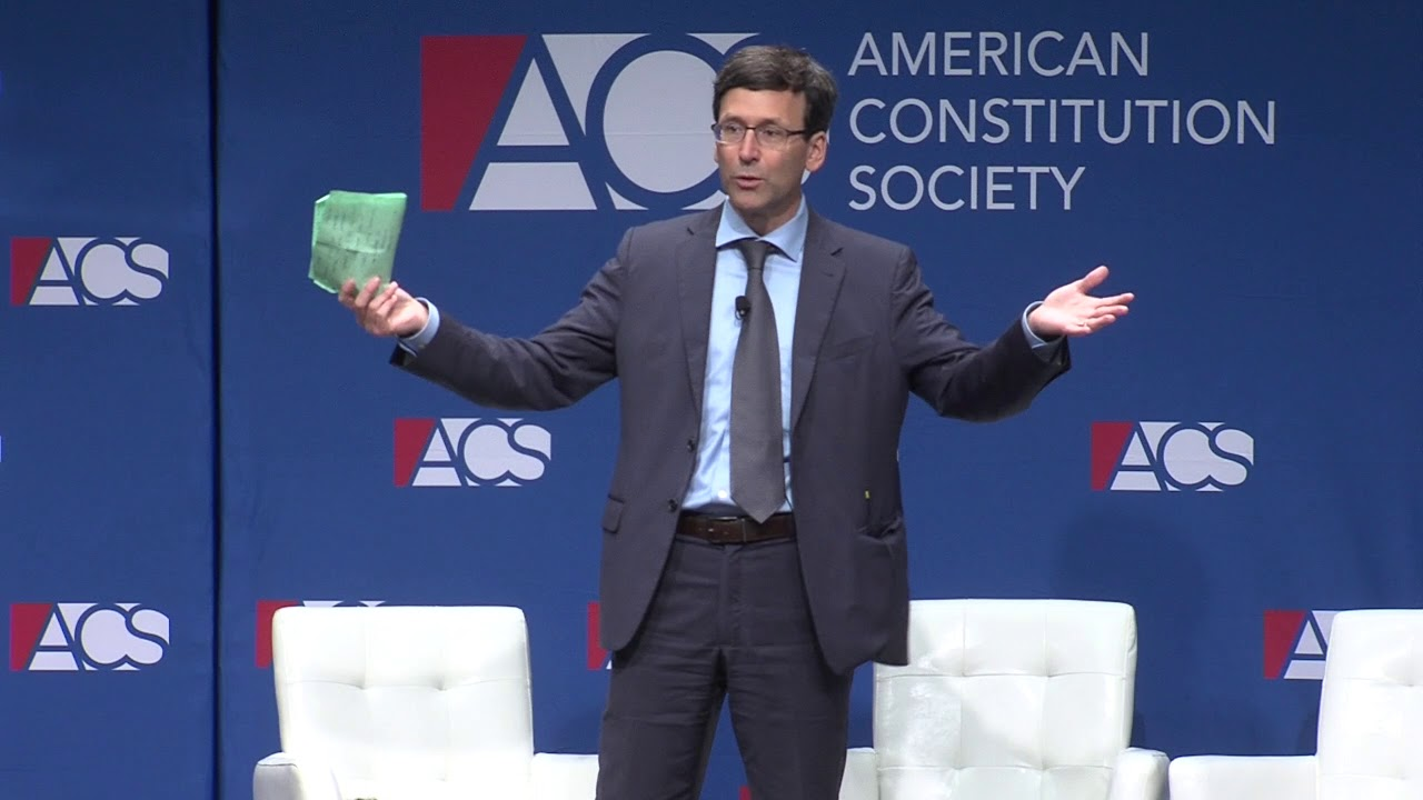 Washington AG Bob Ferguson Speaks at ACS2019