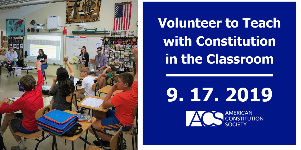 Constitution in the Classroom | ACS